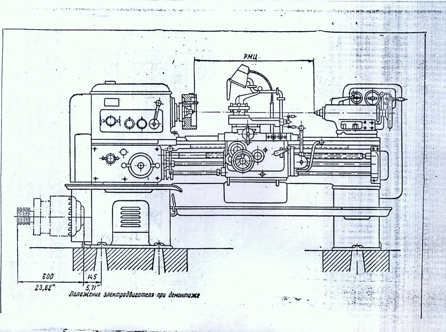 Карта и схема смазки многопильного станка