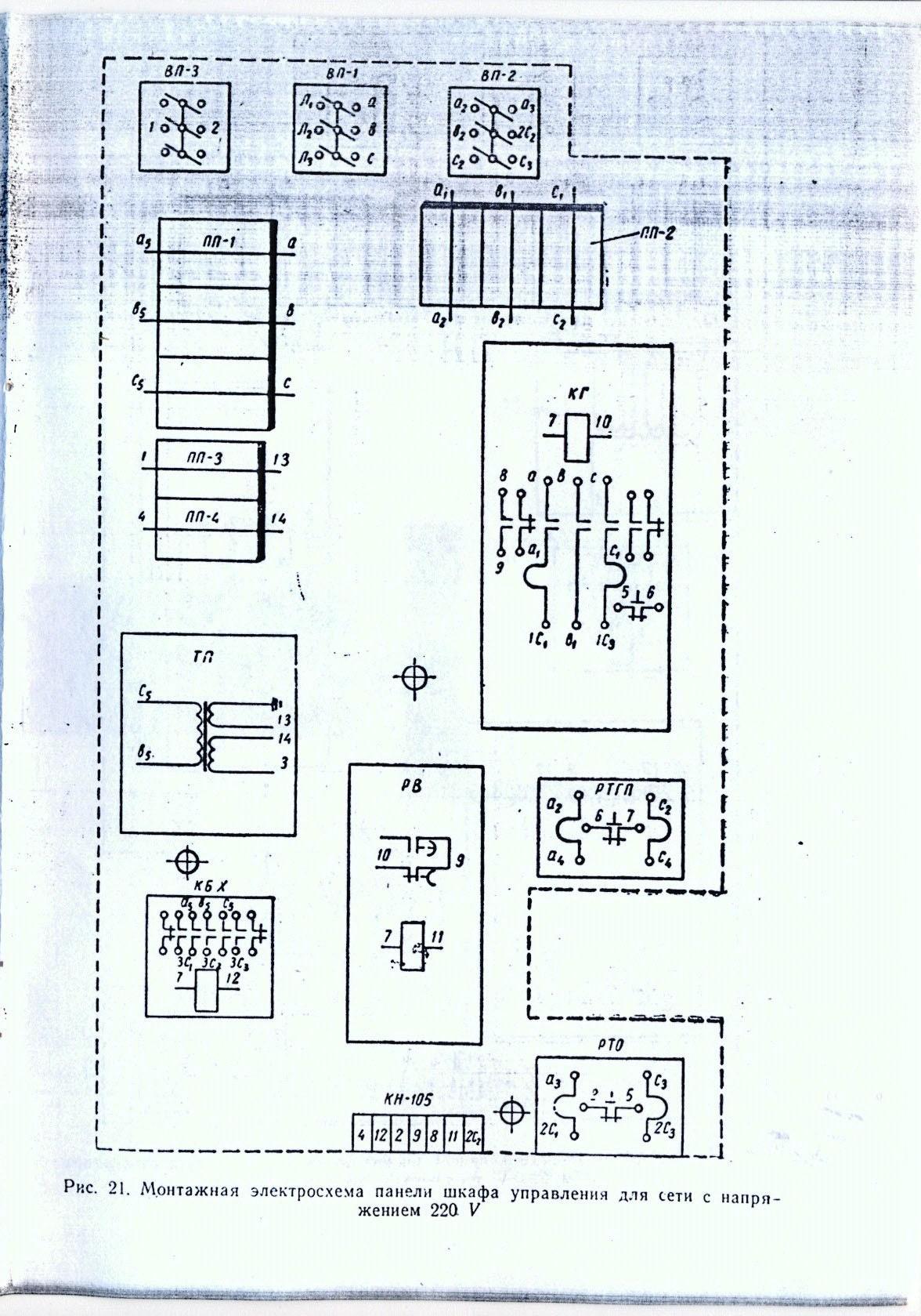 1к62 описание электрической схемы станка